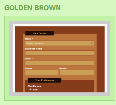 Not just a Stranglers song, Golden Brown is a cool Contact Form 7 Skin